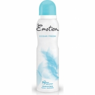 EMOTİON DEO. WOMEN OCEAN FRESH (PUDRASIZ) 150ML