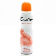 EMOTİON DEO. WOMEN FRESH BOUQUET (PUDRASIZ) 150ML