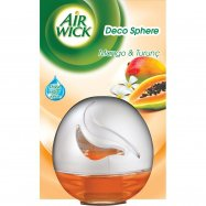 AİR WİCK DECO SPHERE MANGO 75ML(K:12 ADET)