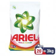 ARİEL 3KG PARLAK RENKLER - 6'LI KOLİ