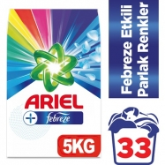 ARİEL FEBREZE ETKİLİ PARLAK RENKLER 5KG (ADET)