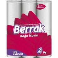 BERRAK HAVLU 12'Lİ-4'LÜ KOLİ