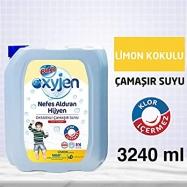 BİNGO OKSİJENLİ ÇAMAŞIR SUYU 3240ML LİMON -4'LÜ KOLİ