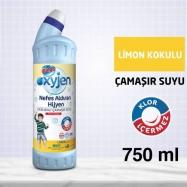 BİNGO OKSİJENLİ ÇAMAŞIR SUYU 750ML LİMON KOKULU -15'Lİ KOLİ