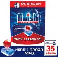 CALGONİT FİNİSH HEPSİ BİR ARADA 35'Lİ TABLET REGULAR -5'Lİ KOLİ