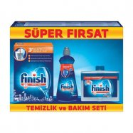 CALGONİT FİNİSH KATKI MAD.SET(500GR TUZ.400ML PAR.250ML MAK.TEM) - 9'LU KOLİ