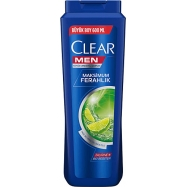 CLEAR 550ML MEN YAĞLI SAÇ DER.MAXİMUM FERAHLIK-4'LÜ PAKET