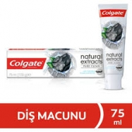COLGATE NATURAL EXTRACTS PURE CLEAN (KÖMÜR) 75 ML-12'Lİ PAKET