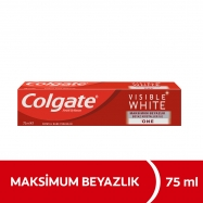 COLGATE VISIBLE WHITE MAKSİMUM BEYAZLIK 75ML -12'Lİ PAKET
