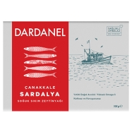 DARDANEL ZEYTİN YAĞLI SARDALYA 100GR (DOMATES SOSLU) - 12'Lİ PAKET