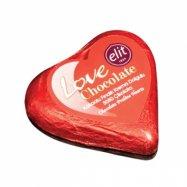ELİT LOVE ÇİKOLATA (KALP) 21GR - 12'Lİ PAKET