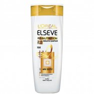 ELSEVE ŞAMPUAN 600ML RE NUTRITION 2in1 (ARI SÜTÜ / BEYAZ) - 6'LI KOLİ