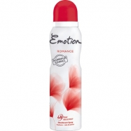 EMOTİON DEO. WOMEN ROMANCE (PUDRASIZ) 150ML