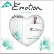EMOTİON EDT AQUA KISS 150ML DEO+ EAU DE TOILETTE 50ML (ADET)