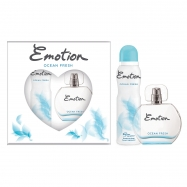 EMOTİON EDT OCEAN FRESH 150ML DEO+EAU DE TOILETTE 50ML (ADET)