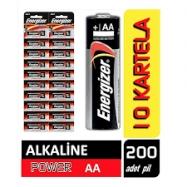 ENERGİZER KALEM PİL KARTELA ALKALİNE POWER - 12'Lİ PAKET