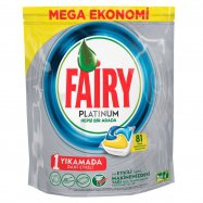 FAİRY PLATINUM TABLET LİMON 81'Lİ - 3'LÜ KOLİ