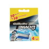 GİLLETTE MACH3 TURBO 4.LÜ YEDEK 10'LU-PAKET (SAP 81540836)
