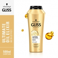 GLİSS ŞAMPUAN 525ML ULTIMATE OIL ELIXIR (YIPRANMIŞ SAÇ)-6'LI KOLİ