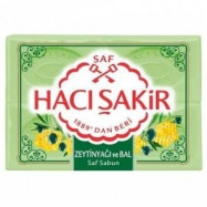HACI ŞAKİR SABUN 600GR ZETİNYAĞI&BAL (OLİVEOİL&HONEY) - 15'Lİ KOLİ