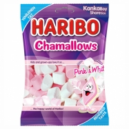 HARİBO CHAMALLOWS PINK&WHITE 70GR -24'LÜ KOLİ