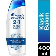 HEAD&SHOULDERS 500ML KLASİK BAKIM 2in1 - 6'LI PAKET