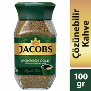 JACOBS MONARCH (KAVANOZ) GOLD 100GR - 6'LI KOLİ