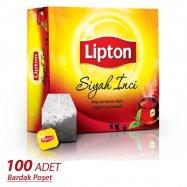 LİPTON SİYAH İNCİ BARDAK 100'LÜ - 6'LI KOLİ