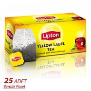 LİPTON YELLOW LABEL TEA 25'Lİ BARDAK - 12'Lİ KOLİ