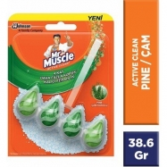 MR.MUSCLE KLOZET BLOK (ACTİVE CLEAN) PİNE 38.6GR -8'Lİ KOLİ (301099)