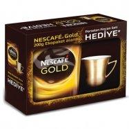 NESCAFE GOLD 200 GR POŞET FİNCAN TAKIMI HEDİYELİ