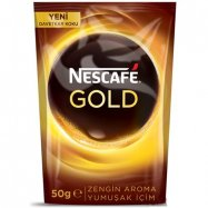 NESCAFE GOLD 50GR (POŞET) - 12'Lİ KOLİ
