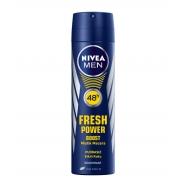 NIVEA DEO.FOR MEN FRESH POWER 150ML -6'LI PAKET