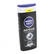 NIVEA DUŞ JELİ 250ML MEN ACTIVE CLEAN-6'LI PAKET