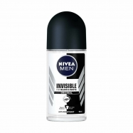 NIVEA ROLL-ON BLACK&WHITE INVISIBLE ORIGINAL 50ML ERKEK -6'LI PAKET