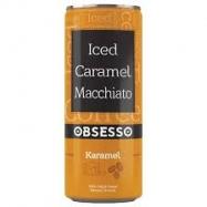 OBSESSO ICED CARAMEL MACCHİATO 250ML 12'Lİ KOLİ