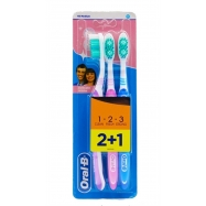 ORAL-B DELİCATE WHİTE 2+1 MEDİUM -6'LI PAKET (81466228)