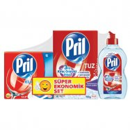 PRİL SET (15 TAB.700GR TUZ.450ML PAR.) - 5'Lİ