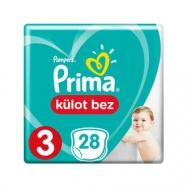 PRİMA PAMPERS PANTS MİDİ 6-11 (28)-3'LÜ KOLİ