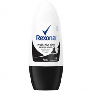 REXONA ROLL ON INVISIBLE BLACK+WHITE WOMEN 50ML-6'LI PAKET