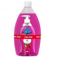 SALON SIVI SABUN 400+750ML GÜL - 6'LI KOLİ