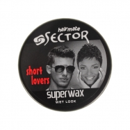 SECTOR WAX 150ML WET LOOK (SİYAH)
