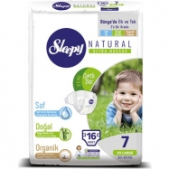 SLEEPY SENSİTİVE JUMBO PAKET (7 NUMARA 16) XX LARGE - 5'Lİ KOLİ