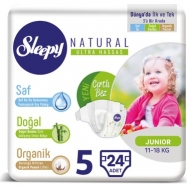 SLEEPY SENSİTİVE JUMBO PAKET JUNİOR 11-18 (32)-5'Lİ KOLİ
