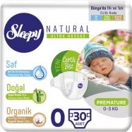 SLEEPY SENSİTİVE JUMBO PAKET PREMATÜRE 0-3 (50)-5'Lİ KOLİ