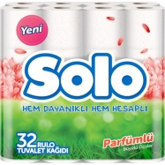 SOLO (PARFÜMLÜ) TUVALET KAĞIDI 32'Lİ -3'LÜ KOLİ