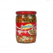 SUPER FRESH BEZELYE KONSERVESİ 680GR-12'Lİ KOLİ