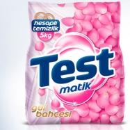 TEST MATİK 5KG RENKLİ+BEYAZ (GÜL BAHÇESİ)