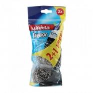 VİLEDA OVMA TELİ 2+1 (INOX SPİRAL SCOURER) - 20'Lİ KOLİ