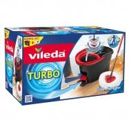 Vileda Turbo Easy Wring and Clean Pedallı Temizlik Seti